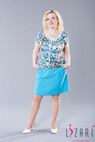 Блузка летняя со шнурком - Lizari