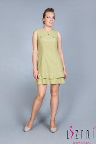 Летнее платье без рукавов с клапанами - Lizari