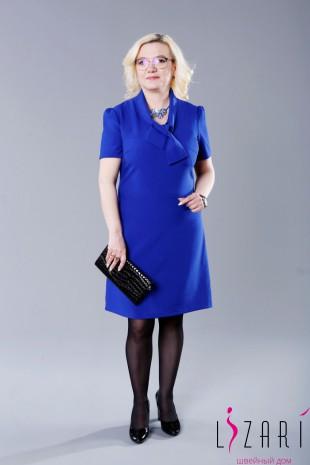Платье цвета василёк - Lizari
